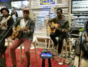 Jonathan McReynolds Performs Latest Single Live In Ikea (Video)