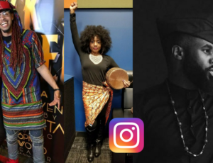 These artists showed up royalty to see Black Panther this weekend (Photos)