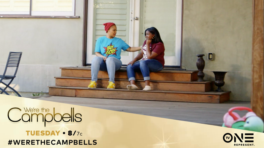we're the campbells, TV One, Erica Campbell, Krista Campbell