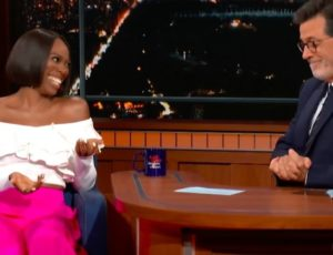 Colbert & Insecure's Yvonne Orji Discuss the Holy Spirit on Late Night TV