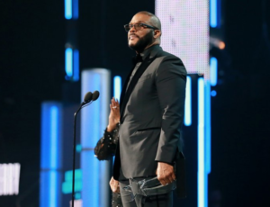 Tyler Perry Receives BET's Icon Award & Delivers Inspirational Speech